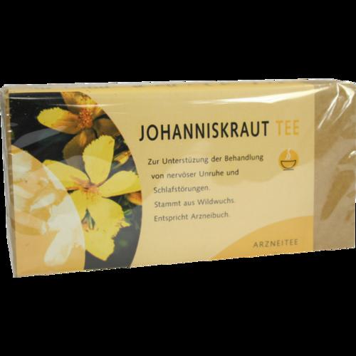 Verpackungsbild(Packshot) von JOHANNISKRAUT TEE Filterbeutel