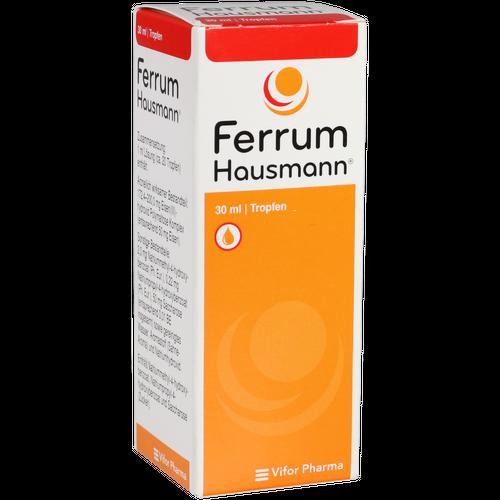 Verpackungsbild(Packshot) von FERRUM HAUSMANN Tropfen zum Einnehmen