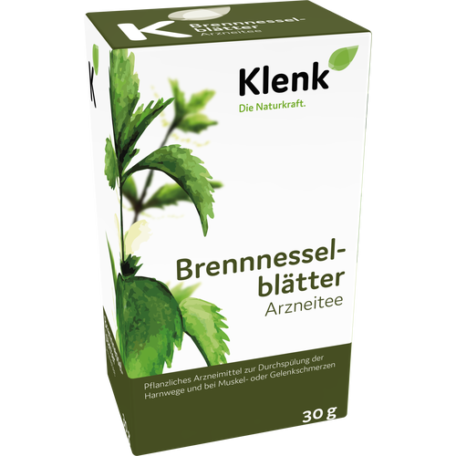 Verpackungsbild(Packshot) von BRENNESSELBLÄTTER Tee