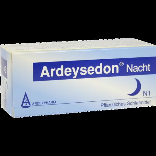 Verpackungsbild(Packshot) von ARDEYSEDON Nacht überzogene Tabletten