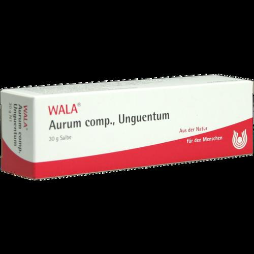 Verpackungsbild(Packshot) von AURUM COMP Unguentum
