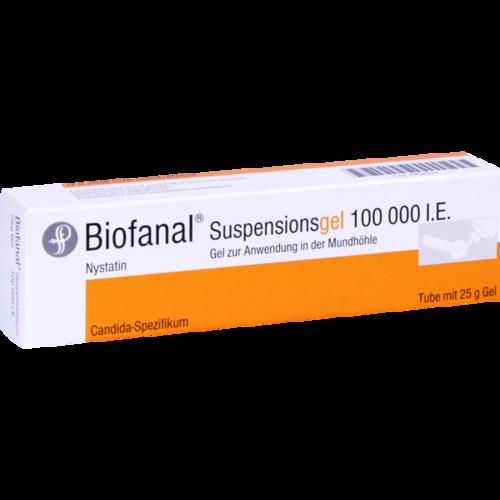 Verpackungsbild(Packshot) von BIOFANAL Suspensionsgel Tube