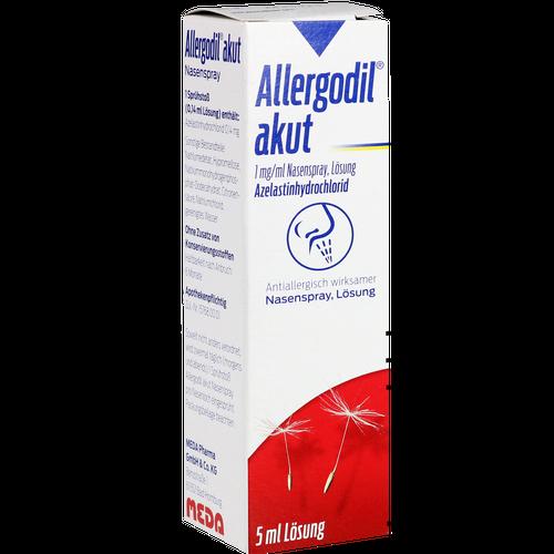 Verpackungsbild(Packshot) von ALLERGODIL akut Nasenspray