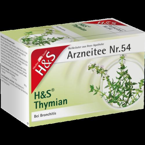 Verpackungsbild(Packshot) von H&S Thymian Tee Filterbeutel
