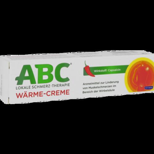 Verpackungsbild(Packshot) von ABC Wärme-Creme Capsicum Hansaplast med