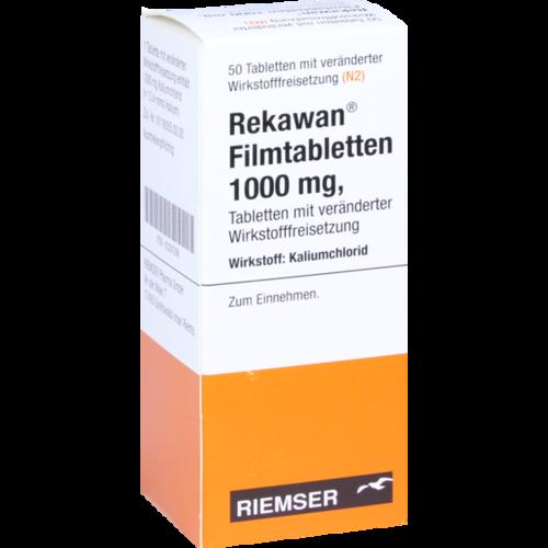 Verpackungsbild(Packshot) von REKAWAN Filmtabletten 1000 mg