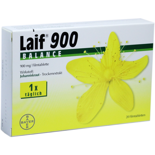 Verpackungsbild(Packshot) von LAIF 900 Balance Filmtabletten
