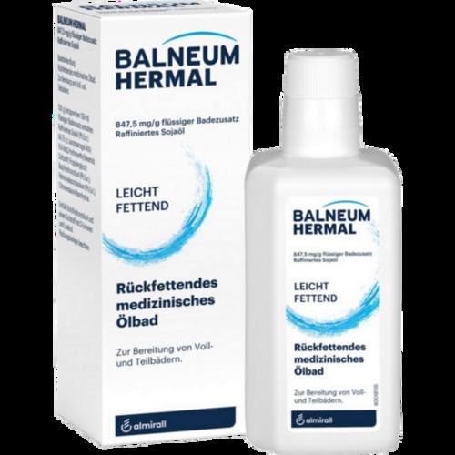 Verpackungsbild(Packshot) von BALNEUM Hermal flüssiger Badezusatz