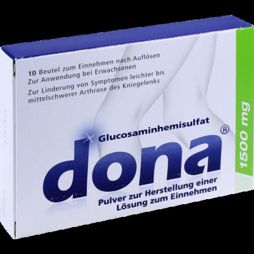 Verpackungsbild(Packshot) von DONA 1500 mg Plv.z.Her.e.Lsg.z.Einnehmen Beutel