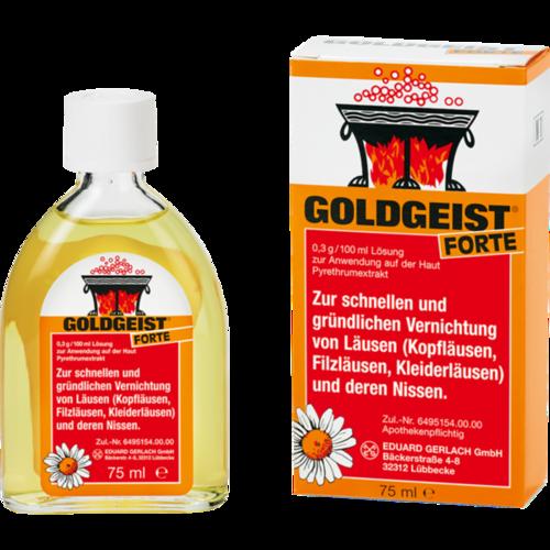 Verpackungsbild(Packshot) von GOLDGEIST forte flüssig