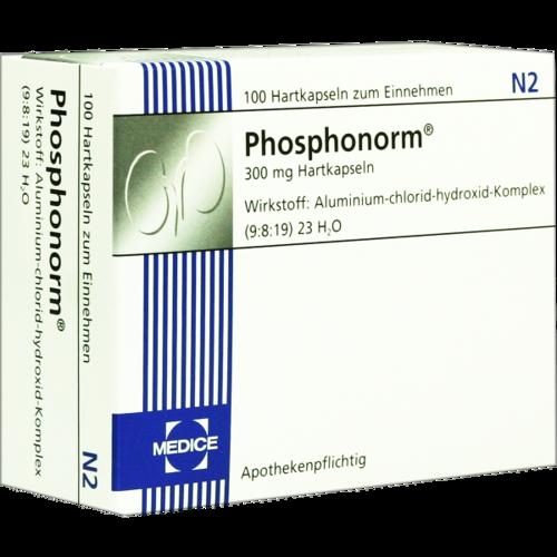 Verpackungsbild(Packshot) von PHOSPHONORM Hartkapseln