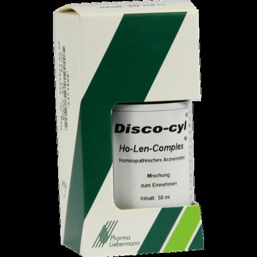 Verpackungsbild(Packshot) von DISCO-CYL Ho-Len-Complex Tropfen