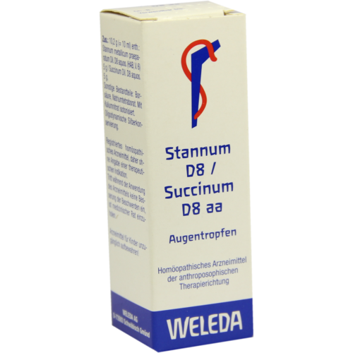 Verpackungsbild(Packshot) von STANNUM D 8 succinum D 8 aa Augentropfen