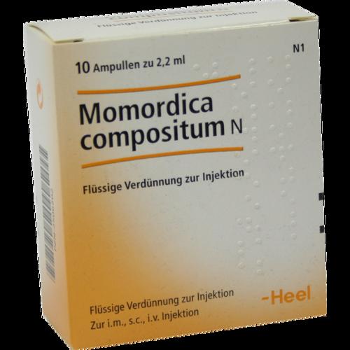 Verpackungsbild(Packshot) von MOMORDICA COMPOSITUM N Ampullen