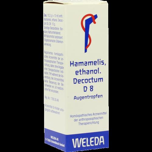 Verpackungsbild(Packshot) von HAMAMELIS D 8 Augentropfen