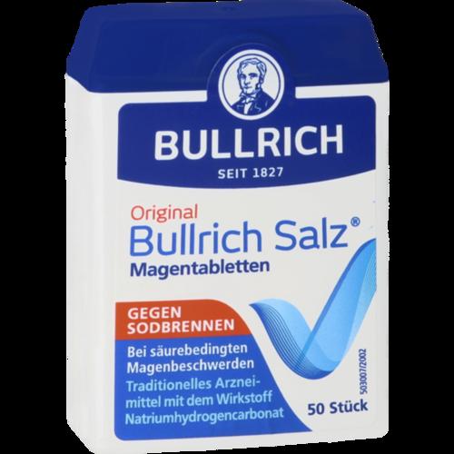 Verpackungsbild(Packshot) von BULLRICH Salz Tabletten