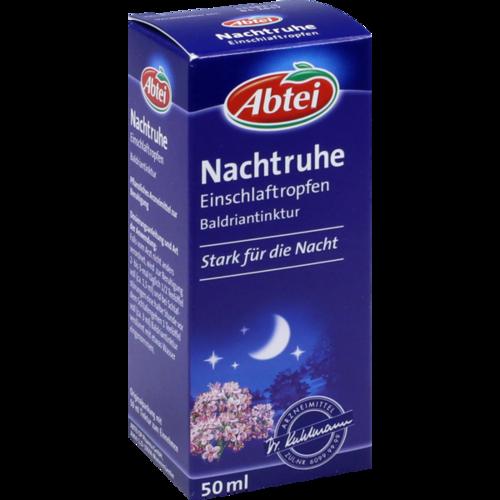 Verpackungsbild(Packshot) von ABTEI Nachtruhe Einschlaftropfen
