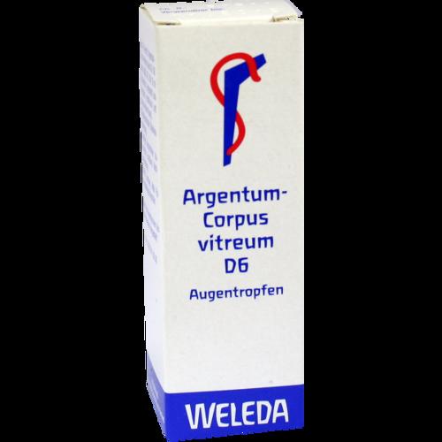 Verpackungsbild(Packshot) von ARGENTUM CORPUS Vitreum D 6 Augentropfen