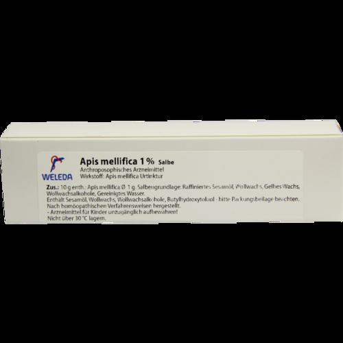 Verpackungsbild(Packshot) von APIS MELLIFICA 1% Salbe