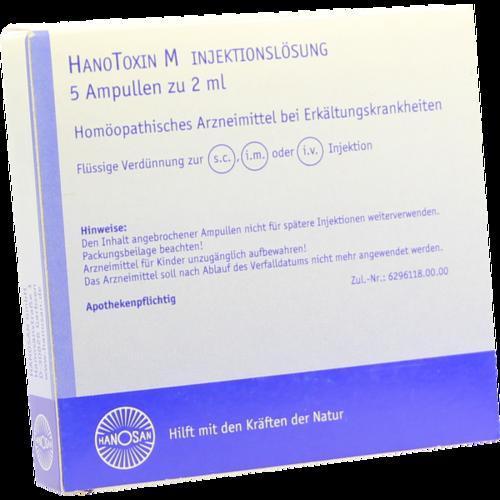 Verpackungsbild(Packshot) von HANOTOXIN M Injektionslösung