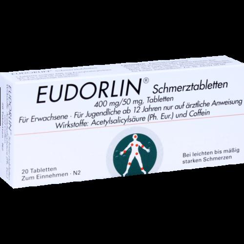 Verpackungsbild(Packshot) von EUDORLIN Schmerztabletten