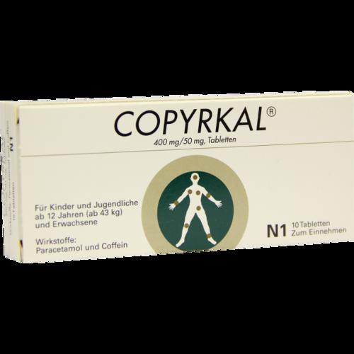 Verpackungsbild(Packshot) von COPYRKAL Tabletten