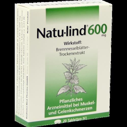 Verpackungsbild(Packshot) von NATULIND 600 mg überzogene Tabletten