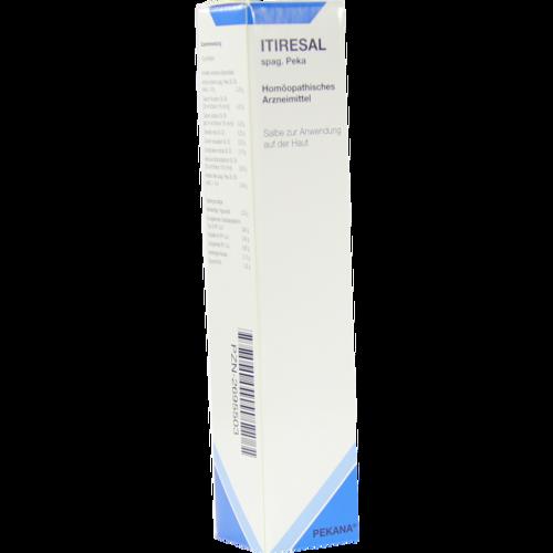 Verpackungsbild(Packshot) von ITIRESAL spag.Peka Salbe