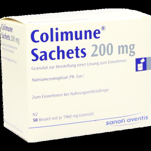Verpackungsbild(Packshot) von COLIMUNE S 200 Granulat Sachet a 1960 mg