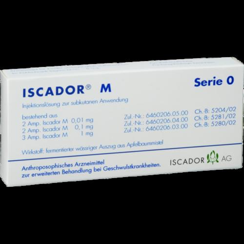 Verpackungsbild(Packshot) von ISCADOR M Serie 0 Injektionslösung