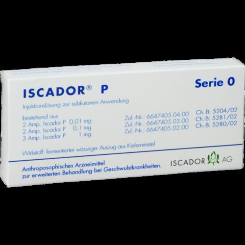 Verpackungsbild(Packshot) von ISCADOR P Serie 0 Injektionslösung