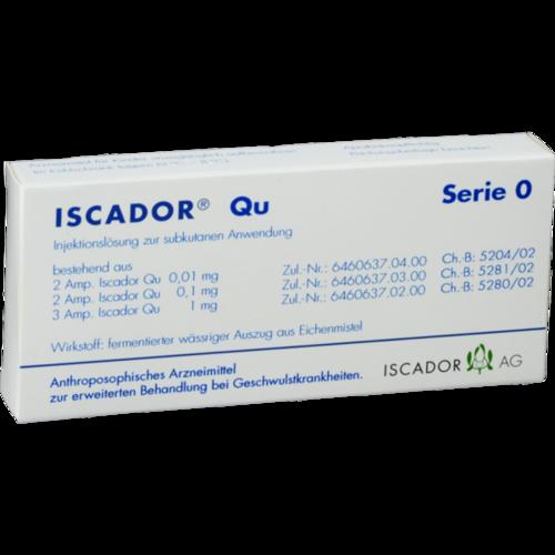 Verpackungsbild(Packshot) von ISCADOR Qu Serie 0 Injektionslösung