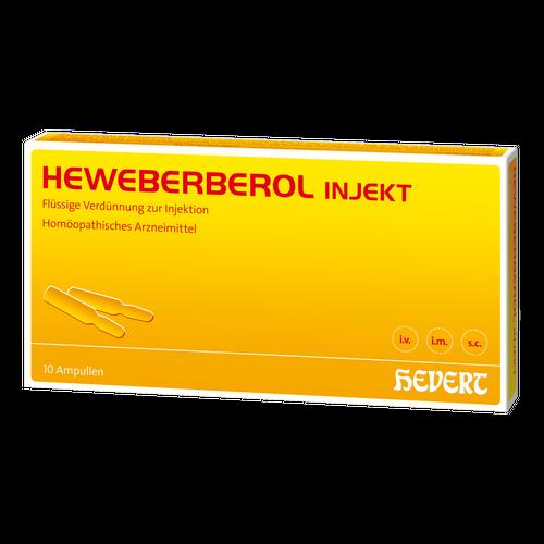 Verpackungsbild(Packshot) von HEWEBERBEROL injekt Ampullen