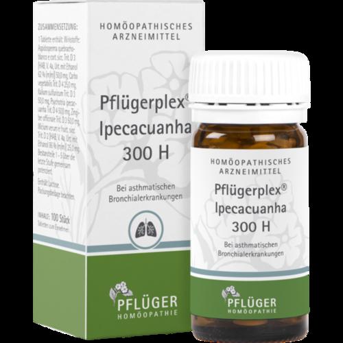 Verpackungsbild(Packshot) von PFLÜGERPLEX Ipecacuana 300 H Tabletten