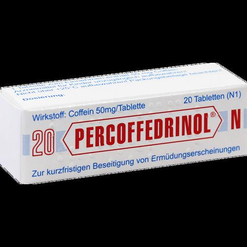 Verpackungsbild(Packshot) von PERCOFFEDRINOL N 50 mg Tabletten