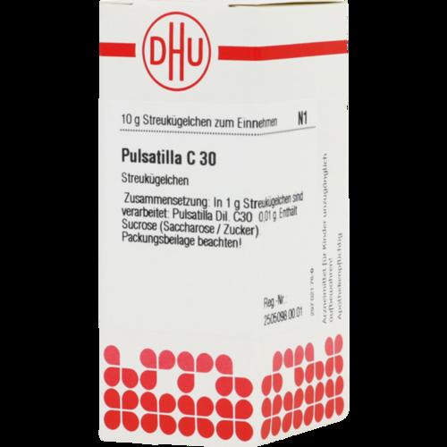 Verpackungsbild(Packshot) von PULSATILLA C 30 Globuli