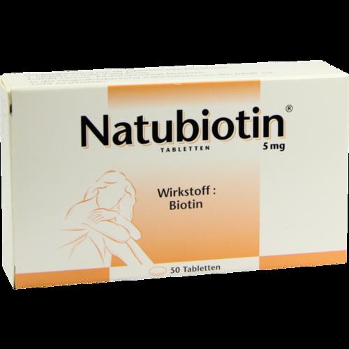 Verpackungsbild(Packshot) von NATUBIOTIN Tabletten