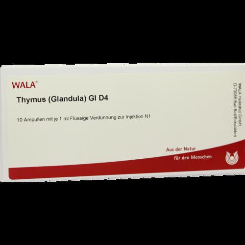 Verpackungsbild(Packshot) von THYMUS GLANDULA GL D 4 Ampullen