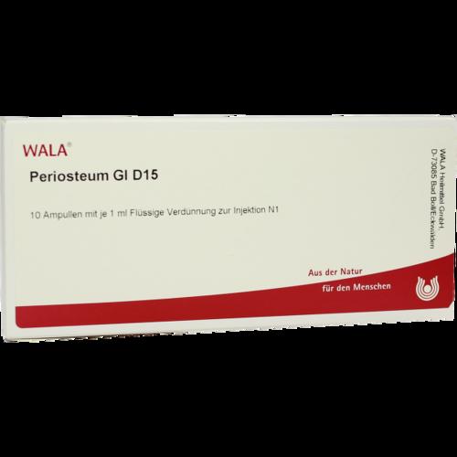 Verpackungsbild(Packshot) von PERIOSTEUM GL D 15 Ampullen