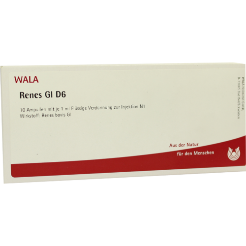 Verpackungsbild(Packshot) von RENES GL D 6 Ampullen