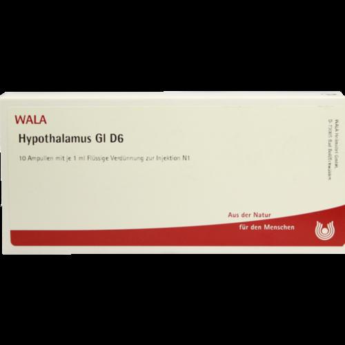 Verpackungsbild(Packshot) von HYPOTHALAMUS GL D 6 Ampullen