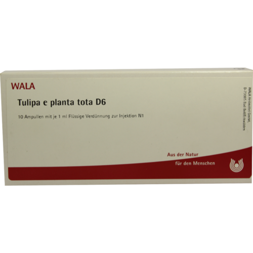 Verpackungsbild(Packshot) von TULIPA e planta tota D 6 Ampullen