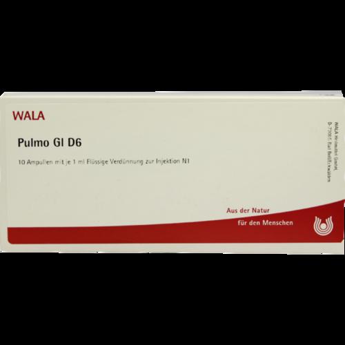 Verpackungsbild(Packshot) von PULMO GL D 6 Ampullen