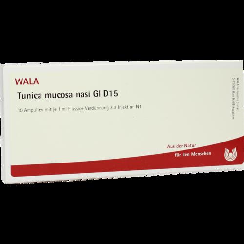 Verpackungsbild(Packshot) von TUNICA mucosa nasi GL D 15 Ampullen