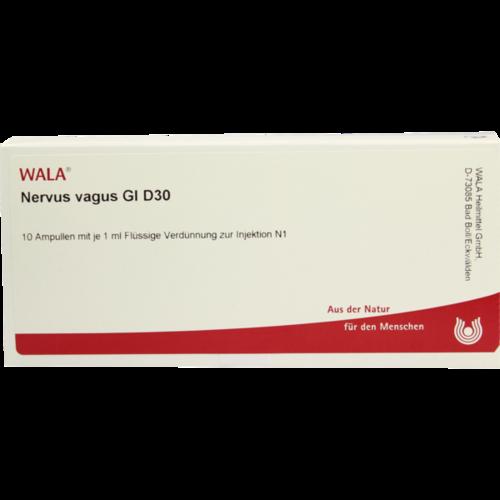 Verpackungsbild(Packshot) von NERVUS VAGUS GL D 30 Ampullen
