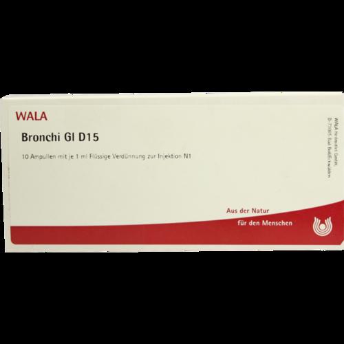 Verpackungsbild(Packshot) von BRONCHI GL D 15 Ampullen