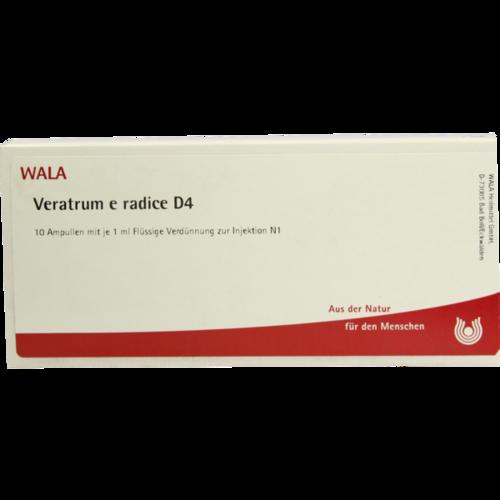 Verpackungsbild(Packshot) von VERATRUM E radice D 4 Ampullen