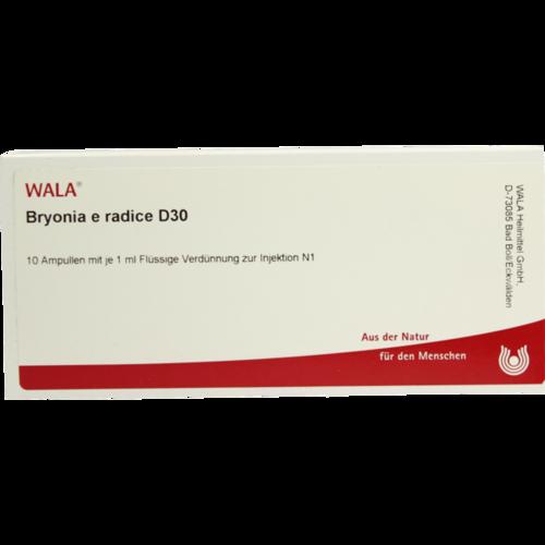 Verpackungsbild(Packshot) von BRYONIA E radice D 30 Ampullen