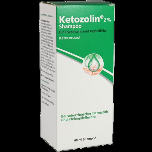 Verpackungsbild(Packshot) von KETOZOLIN 2% Shampoo