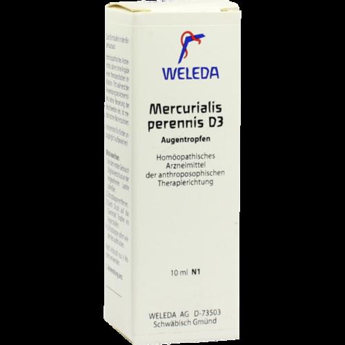 Verpackungsbild(Packshot) von MERCURIALIS PERENNIS D 3 Augentropfen